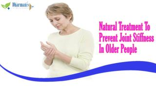 Natural Treatment To Prevent Joint Stiffness In Older People