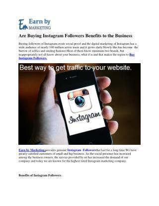Instagram marketing Company at lowest Price Noida India-EarnbyMarketing.com