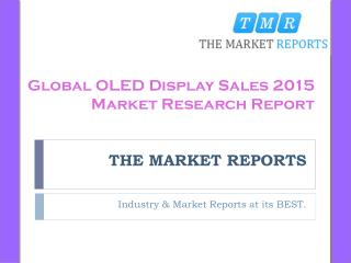 Global OLED Display Market Trends, Competitive Landscape Analysis and Key Companies