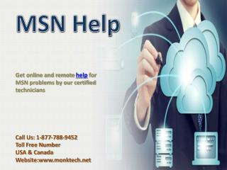 MSN help number 1-877-788-9452 tollfree for MSN help