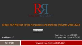 FEA Market in the Aerospace and Defense Industry 2019 Forecasts for Global