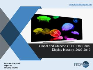 OLED Flat Panel Display Industry Size, Analysis, Market Growth, Report 2009-2019