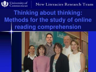 Thinking about thinking: Methods for the study of online reading comprehension