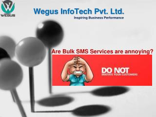 Are Bulk SMS Services are Annoying