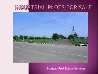 industrial plots for sale