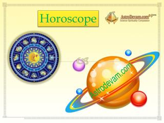 $@% Horoscope 2016 - The best way to decide your future -Astrodevam.com $%%
