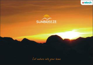 Unitech Sunbreeze Gurgaon Buy Resale Apartments @69 Gurgaon