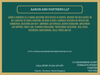 Aaron and Partners LLP