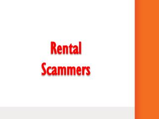 Rental Scammers