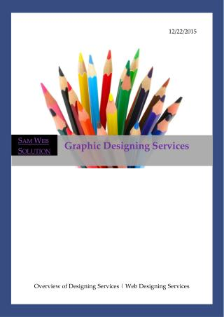 Graphic Design Services and Web Designing Company in Bangalore
