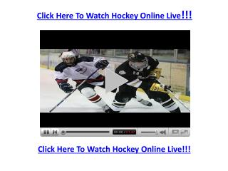 Watch Calgary Flames vs Ottawa Senators Game Online Live