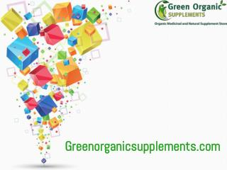Organic Weight Loss Supplements