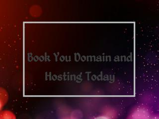 India's Best Domain Registrar and Web Hosting Provider