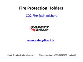 Co2 Fire Extinguishers in Ireland at SafetyDirect.ie