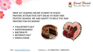 Send Online Flowers to Surat - suratflorist.com