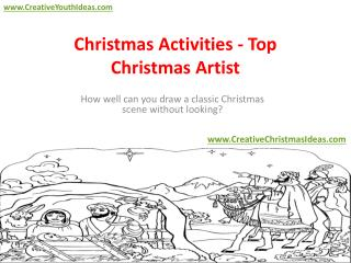 Christmas Activities - Top Christmas Artist