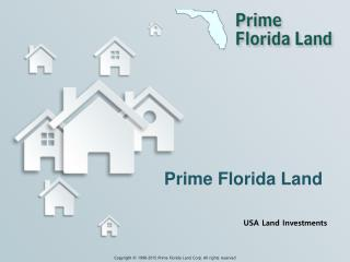USA land Investments - Florida LAnd Area