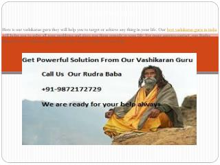 Best Vashikaran Guru Specialist In India