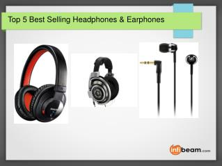 Top 5 Best Selling Headphones & Earphones