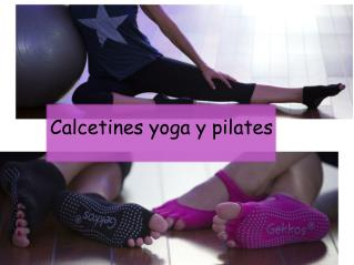 Calcetines yoga y pilates