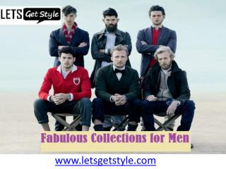 Online shopping men wear collection- letsgetstyle.com