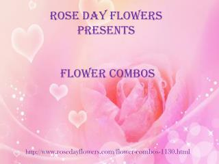 Unique collection of flower combos @ Rosedayflowers.com