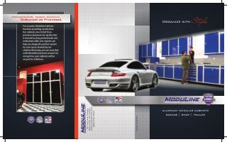 Moduline Garage Shop Trailer Brochure
