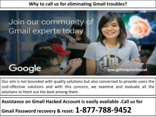 Know Recovery Options--Gmail Password Recovery(1-877-788-9452)