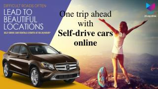 Tips to get self drive car on hire - Voler Cars