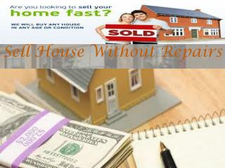 Sell House Without Repairs
