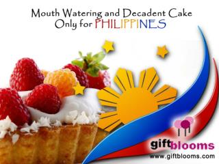 Mouth watering and decadent #cake only for #philippines