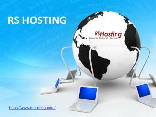 Cheap Website Hosting Services - RS Hosting