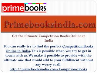 Get the ultimate Competition Books Online in India