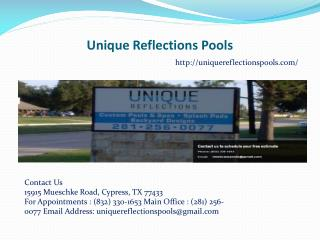 Custom Pools Cypress TX