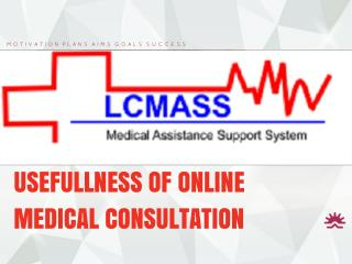 Usefullness Of Online Medical Consultation