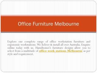 School Furniture Melbourne