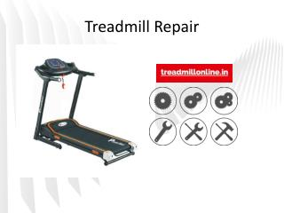 Treadmill Repair