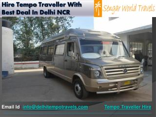 Hire Tempo Traveller With Best Deal In Delhi