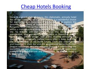 Cheap hotel booking, Luxury Hotel bookingss