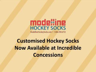Customised Hockey Socks Now available at Incredible Concessions