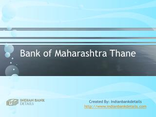 MICR code for Bank of Maharashtra Thane