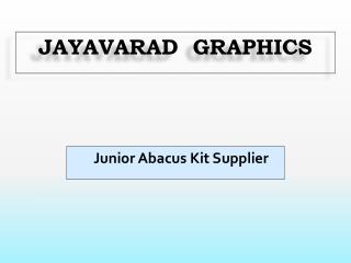 Junior Abacus Kit Supplier