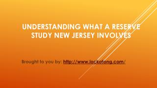Understanding What A Reserve Study New Jersey Involves