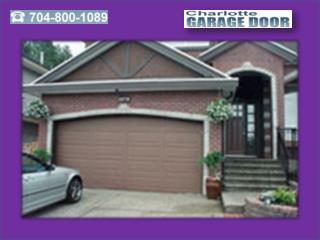 Garage Door Selection - Garage Door Repair in Charlotte NC