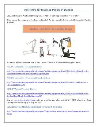 Hoist Hire for Disabled People in Dundee.pdf