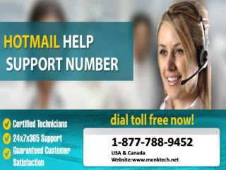 Get help for Hotmail call Hotmail help number 1-877-788-9452 tollfree