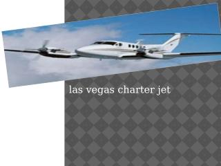Las Vegas Charter Jet