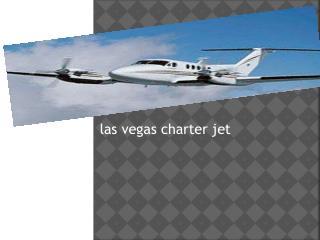 Charter jet Las Vegas