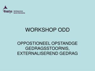 WORKSHOP ODD