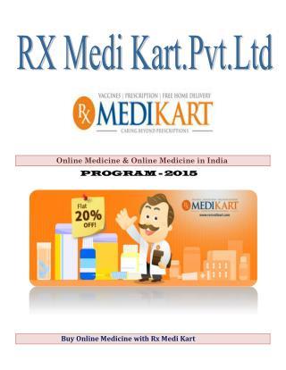 Buy Online Medicine with Rx Medi Kart